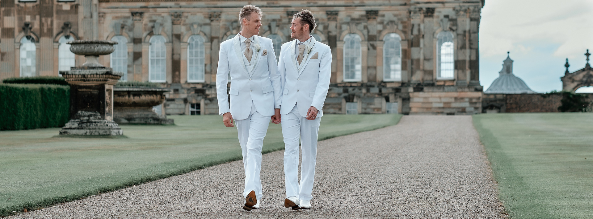 Darren and Craig's Wedding at Castle Howard