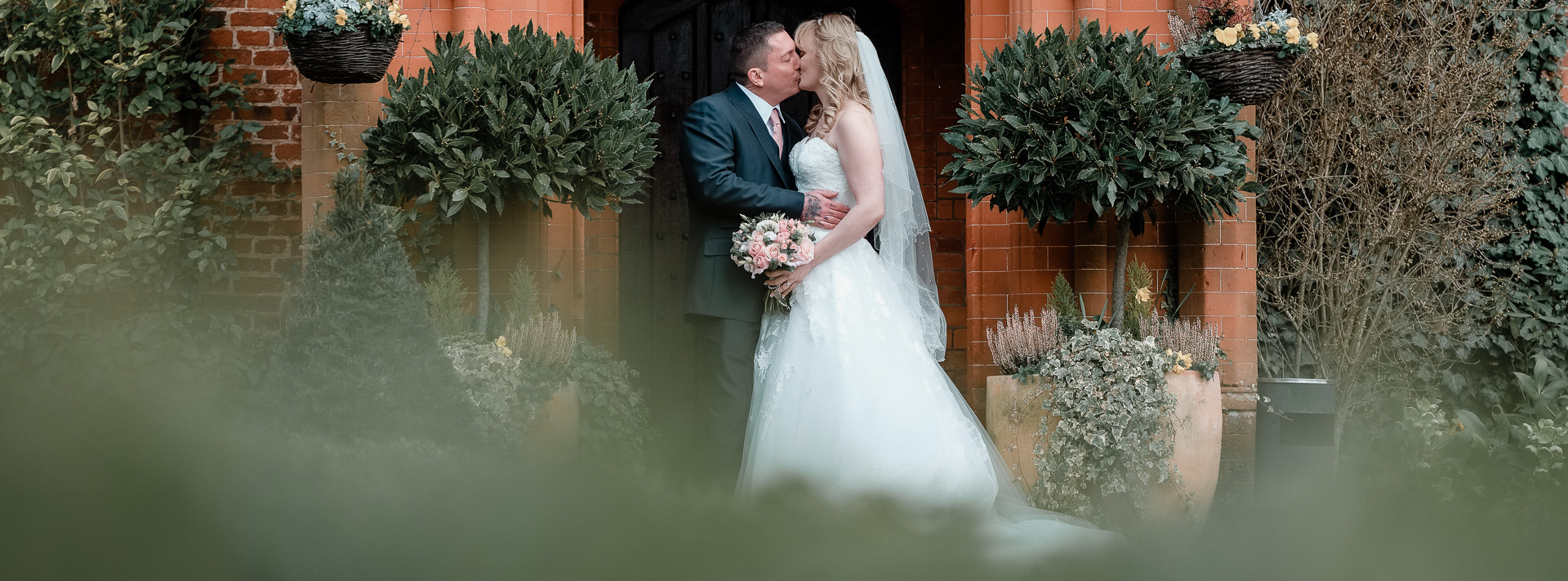 Claire and Bradleys Wedding at Woodhall Manor
